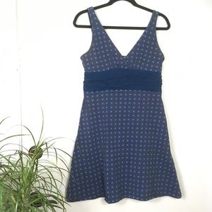 Patagonia Margot Dress in Blue Print